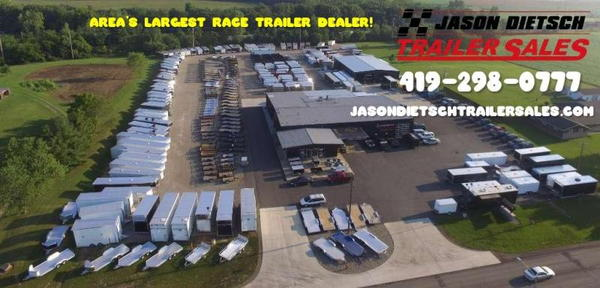 2021 United GEN4 8.5x28 Extra Height Car/Race Trailer #4244