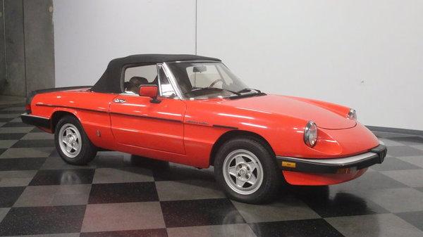 1984 Alfa Romeo Spider Veloce  for Sale $8,995