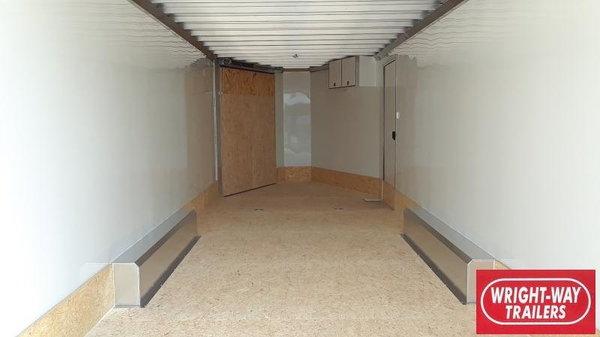 2021 ATC 8.5X22+6' V ALUMINUM ALLSPORT Enclosed Cargo Traile  for Sale $22,795