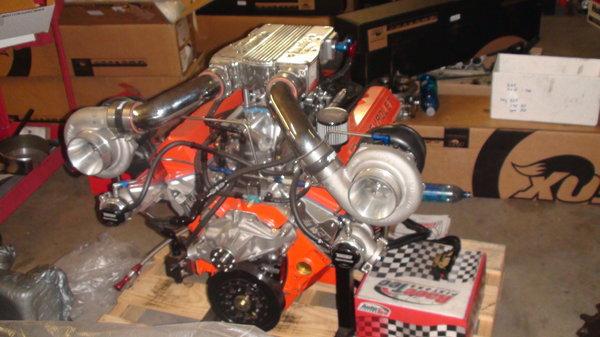 SBC 420 CID Banks Twin Turbochargers  for Sale $16,500