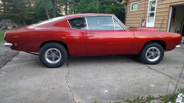 1968 Plymouth Barracuda  for Sale $70,000