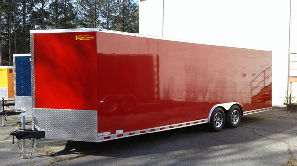NEW 2019 Kaufman Enclosed Car Trailer  for Sale $4,690
