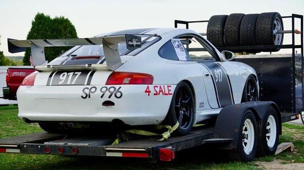 Porsche 996 Race Car & Trailer  for Sale $25,000