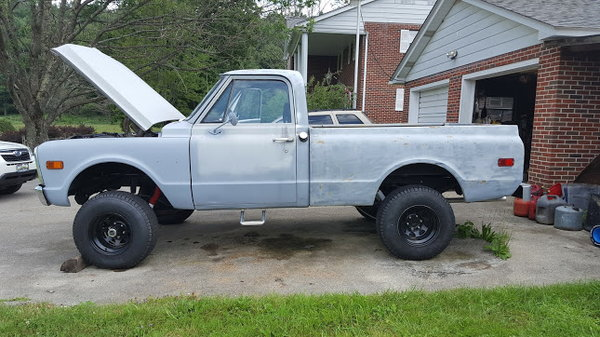 1971 Chevrolet C10 Pickup  for Sale $14,000