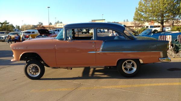 1955 Chevrolet 150 2 door post Gasser  for Sale $58,000