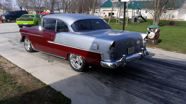 1955 Chevy bel air. High end restomod  for Sale $89,000