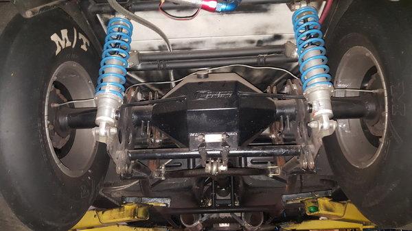 1989 Corvette 10.5W Pro Street Brackets