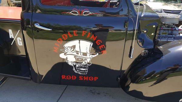 WILD RAT ROD PICKUP  for Sale $25,000