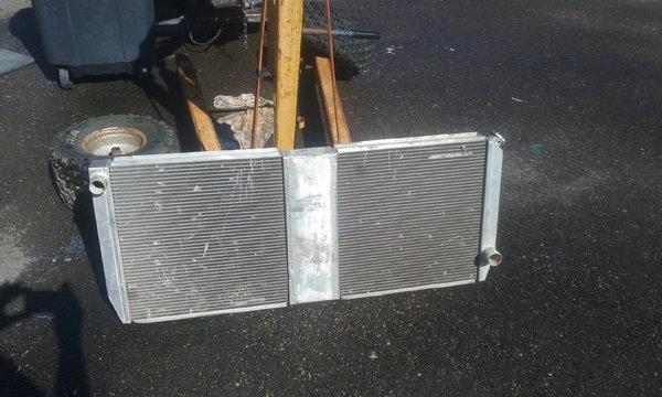custom built aluminum radiator   for Sale $250