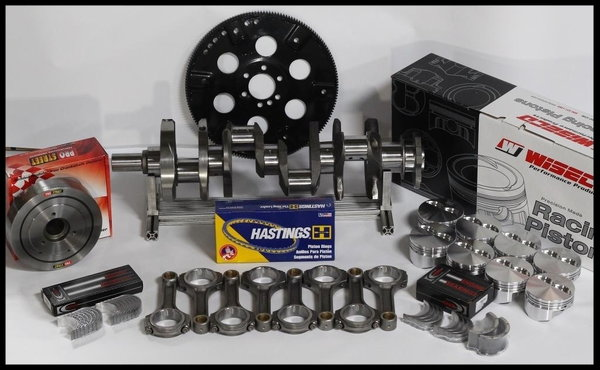 BBC CHEVY 572 ASSEMBLY SCAT 4340 WISECO +10.5cc DOME 4.560   for Sale $1,995