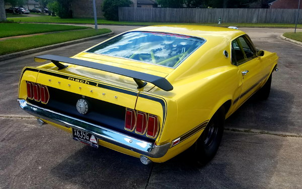 1969 Ford Mustang Fastback Mach 1 Tribute Pro Street Blown S