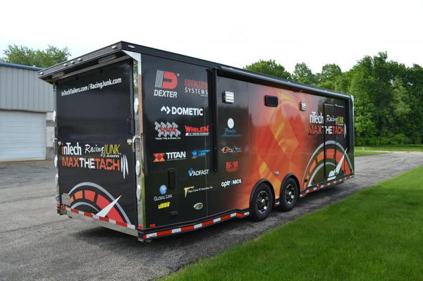 2019 inTech Trailers 28 Icon Factory Sponsorship Trailer Car  for Sale $45,999