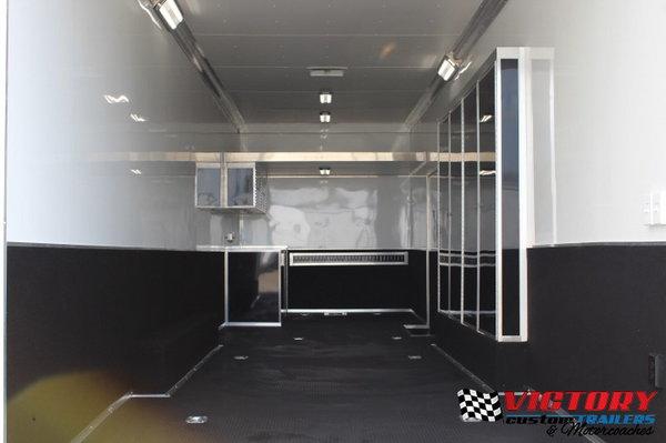 Bravo 8.5'x30' Sprint Car Trailer