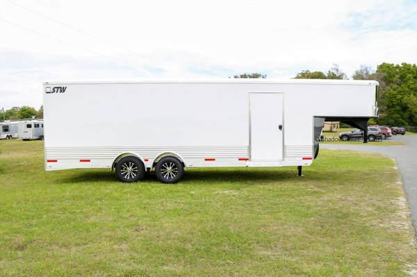 2020 SMS Enclosed 24' Cargo/Race Car Hauler