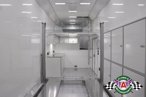 2021 inTech 38' Gooseneck Race Trailer #04298