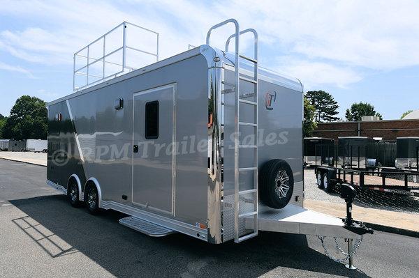 24' Custom inTech Aluminum Trailer