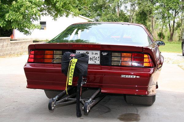 1987 Z28 drag car
