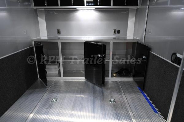 24' inTech Aluminum Trailer with Full Access Escape Door
