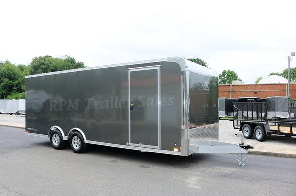 22' ATC Aluminum Car Trailer with Escape Door  11490