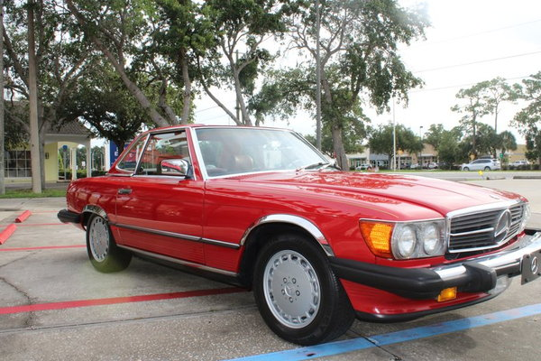 1988 Mercedes-Benz 560 Series 2dr Roadster 560SL  for Sale $27,900