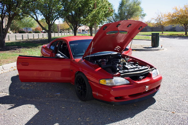 1998 Mustang GT, 637 rwhp, Road Race, Autocross, Drag Race  for Sale $19,900