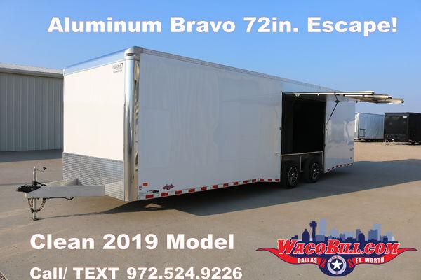 28' Escape Door Race Trailer by Bravo Wacobill.com