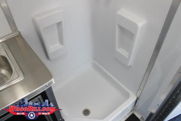34' Bathroom/ Shower Package Race Trailer Wacobill.com