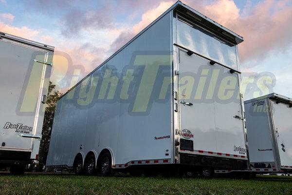 2021 8.5X32 Cargo Mate Stacker Race Trailer