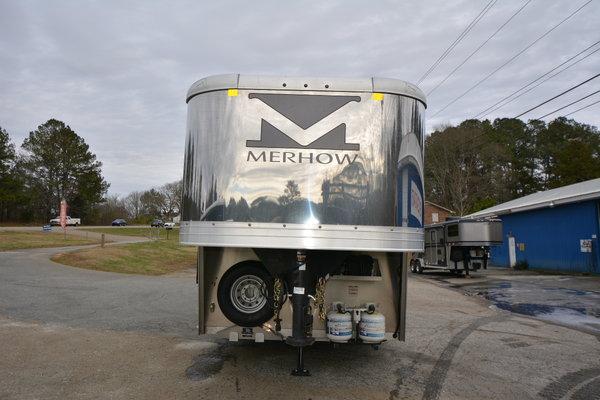 Merhow 8M12 Straightwall Motorsports Living Quarters Trailer