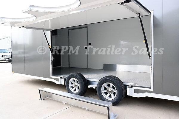 24' inTech Lite Series Car Hauler with Escape Door - 11553