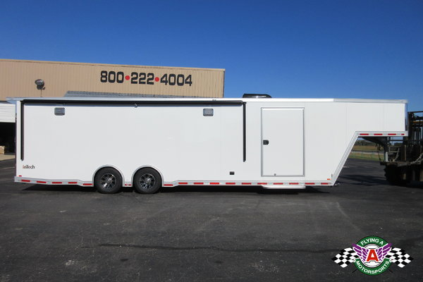 2021 inTech 38' Gooseneck Race Trailer -- ON ORDER!