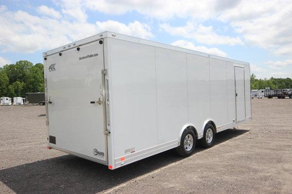2020 ATC Quest CH205 24ft. Aluminum w/5,200lb. Axles Enclose