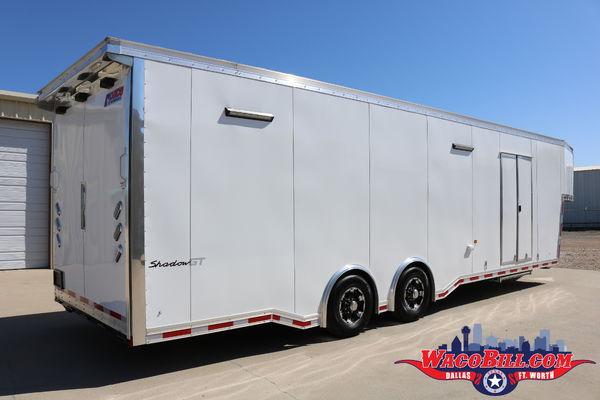 36' Pace Shadow GT Gooseneck Race Trailer @ Wacobill.com