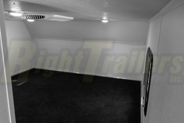 2021 8.5'x46' Vintage Race Trailer with Living Quarters
