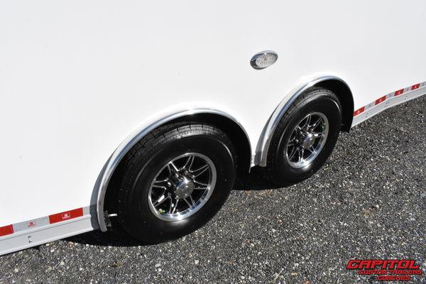 2021 UNITED SUPER HAULER 28' SPRINT CAR HAULER