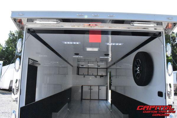 2020 inTech 28' ALL ALUMINUM CAR HAULER