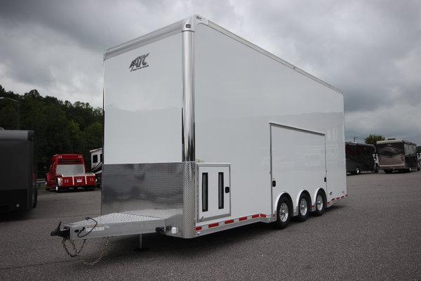 2020 ATC QUEST ST305 26FT Aluminum Stacker Car Trailer