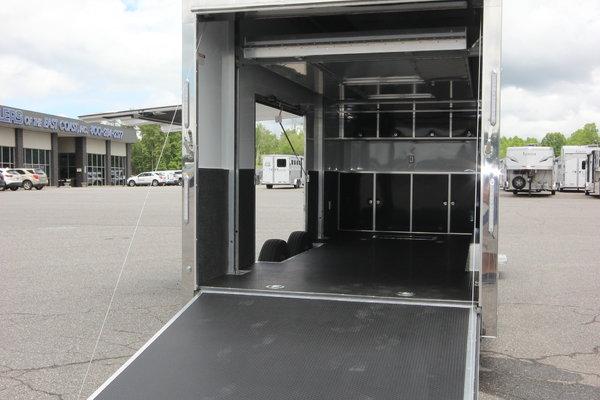 2021 ATC Quest ST305 22' Aluminum Stacker Enclosed Car Trail