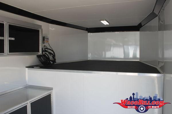 8.5x48 Bravo STP Gooseneck Race Trailer Wacobill.com
