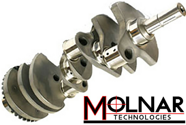 MOLNAR LS & SBC CRANKSHAFTS PREMIUM 4340 FORGED STEEL  for Sale $742