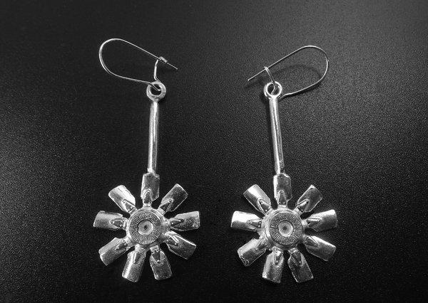 ENGINE FAN EAR RINGS ON ROD W/ EAR WIRES   for Sale $49