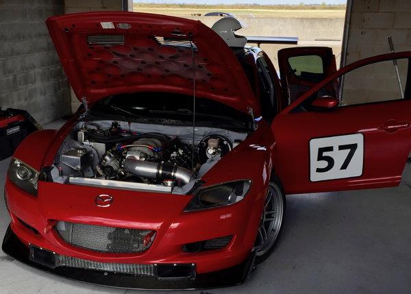 RX8 - V8R LS conversion
