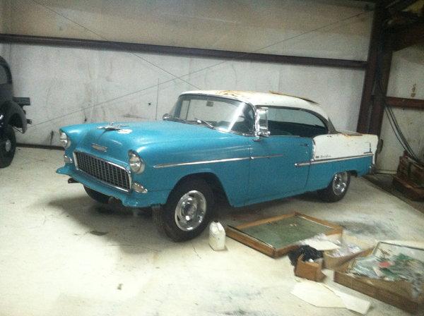 1955 Chevrolet Bel Air  for Sale $28,000