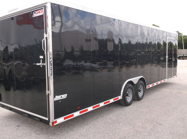 : 2019 8.5x28 Pace American Loaded Race Trailer, Interior, C