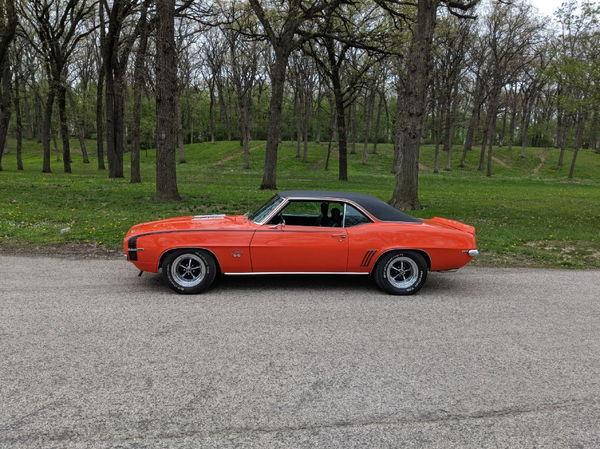 1969 CHEVROLET CAMARO  for Sale $49,000