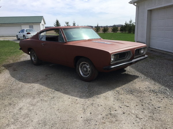 1967 Plymouth Barracuda  for Sale $6,000