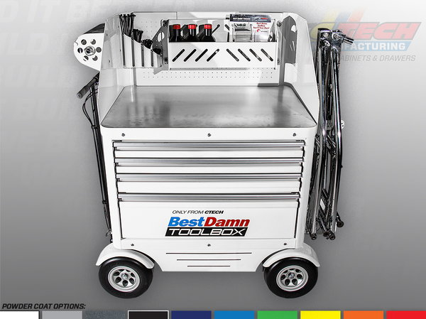 Best Damn Toolbox   Pit/Track Support Cart  for Sale $4,394