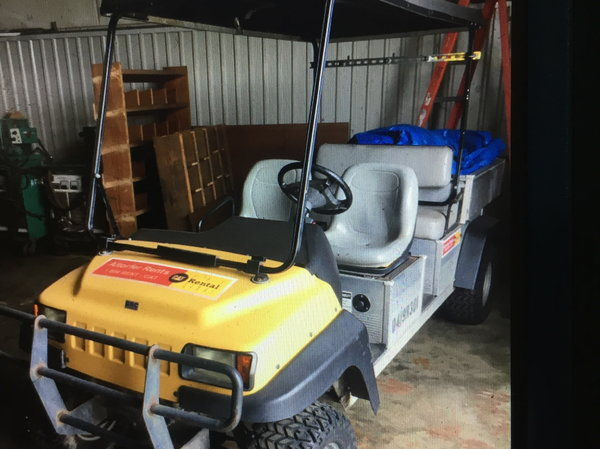 Club Car 4 Seater With Dump Bed For Sale In Bellevue Il Collector
