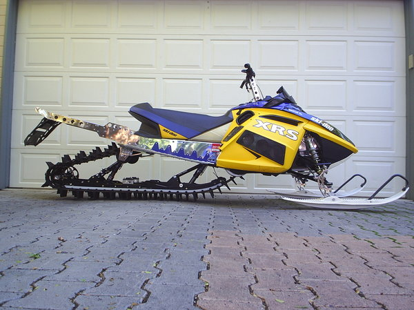 2007 Ski Doo Summit XRS 880cc Mountain Sled For Sale In GRAND