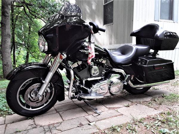 2007 Harley Davidson FLHX Street Glide  for Sale $10,500